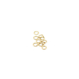 316-JR5G Jump Ring 5mm Gold