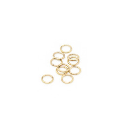 316-JR7G Jump Ring 7mm Gold