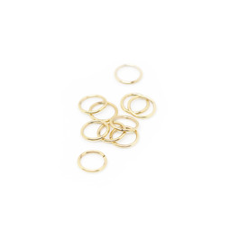 316-JR9G Jump Ring 9mm Gold