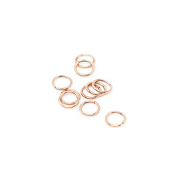 316-JR8R Jump Ring 8mm Rose
