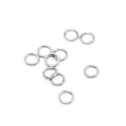 316-JRT9S Jump Ring Thick 9mm Silver
