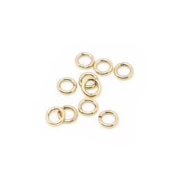 316-JRT8G Jump Ring Thick 8mm Gold