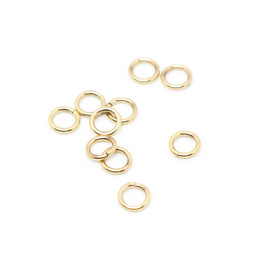 316-JRT9G Jump Ring Thick 9mm Gold