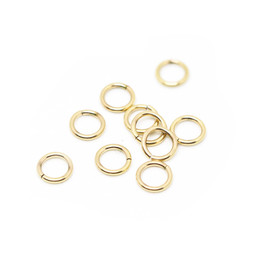 316-JRT10G Jump Ring Thick 10mm Gold