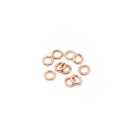 316-JRT7R Jump Ring Thick 7mm Rose