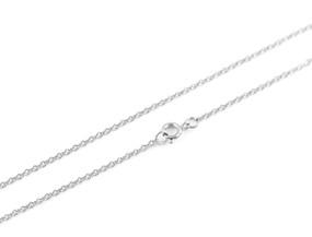 """Cable O Chain Fine - 46cm / 18"""" SILVER"""