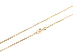 "Cable O Chain Fine - 46cm / 18"" GOLD"