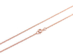 "Cable O Chain Fine - 46cm / 18"" ROSE"