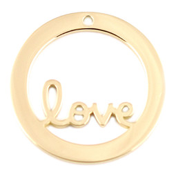 Design Washer Love - GOLD