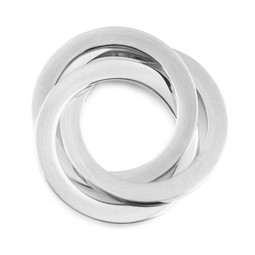 Connecting Rings - SILVER - Stainless Steel