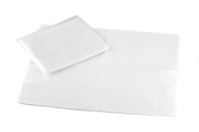 Microfibre Polishing Cloth - White
