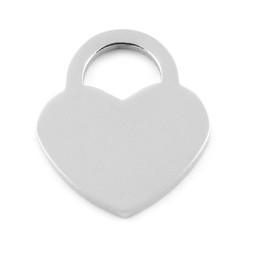 Lock Heart LRG - SILVER