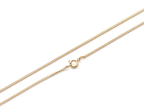 Curb Chain Fine - 61cm GOLD