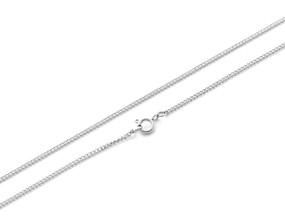Curb Chain Fine - 61cm SILVER