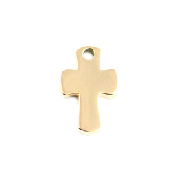 Miniature Charm Cross - GOLD