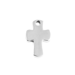 Miniature Charm Cross - SILVER
