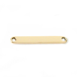ID Plate - GOLD (fits ID Bangle)
