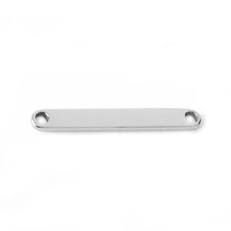 ID Plate - SILVER (fits ID Bangle)