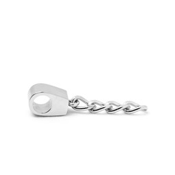 316-SRES Split Ring Extender SILVER for key rings
