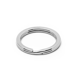 316-SR30S Split Ring 30mm SILVER for key rings