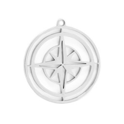 316-MMCCS Create Combine Change Charm Compass SILVER