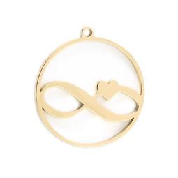 316-MMCIG Create Combine Change Charm Infinity GOLD