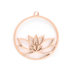 316-MMCLR Create Combine Change Charm Lotus ROSE