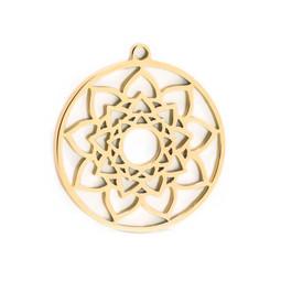 316-MMCMG Create Combine Change Charm Mandala GOLD