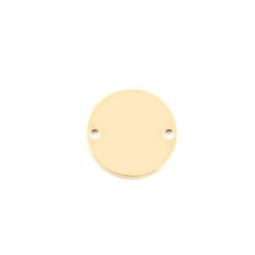 Standard Disc - XSML (15mm) 2 Hole GOLD