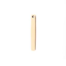 Petite Tag 1 Hole - GOLD