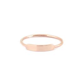 Stacking Ring Size 8 - ROSE