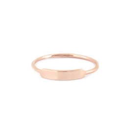 Stacking Ring Size 6 - ROSE