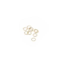 Jump Ring Fine 4mm Gold - 10pk