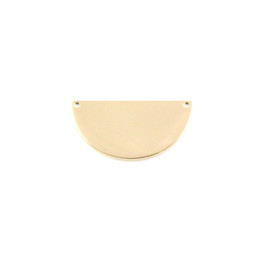 Petite Semi Circle 20mm - 18ct GOLD Plated - Stainless Steel