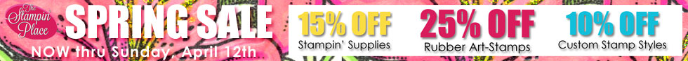 Spring Sale! thru April 7th - click for details!