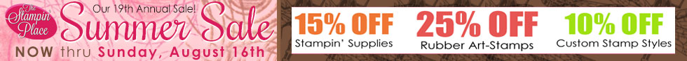 Summer Sale! thru August 16th - click for details!