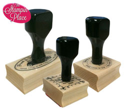 Rubber Stamp/Wood Handle Mount