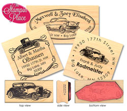 Rubber Stamp/Wood Mount