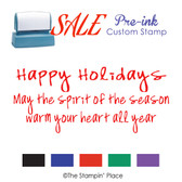 SPECIAL: Pre-Ink: Happy Holidays