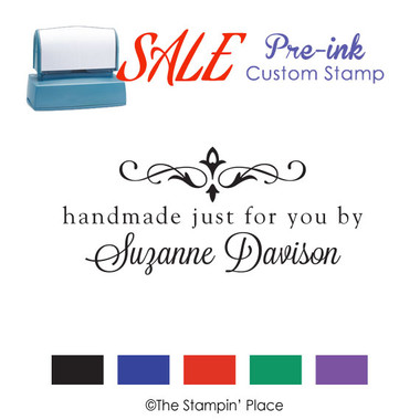 SPECIAL: Handmade by Style: Pre-ink Stamp