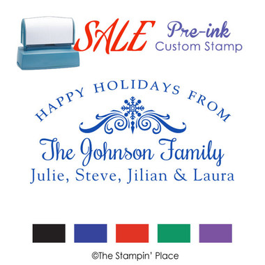 SPECIAL: Signature Style: Pre-ink Stamp