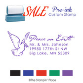 SPECIAL: Dove Address Style: Pre-ink Stamp