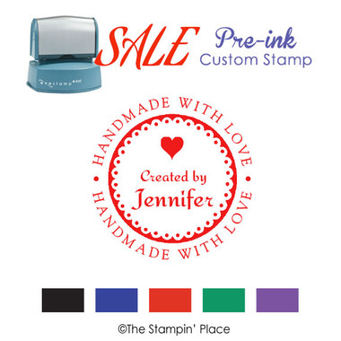 SPECIAL:  Pre-ink Stamp