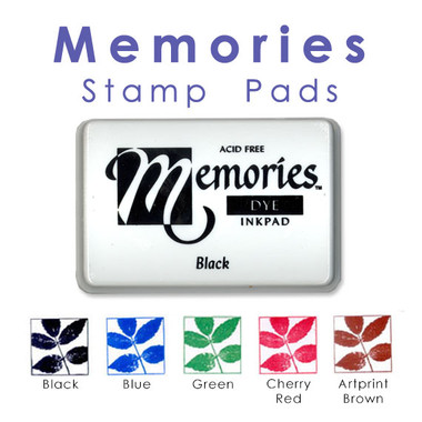 Memories Dye Ink Stamp Pads
