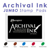 Archival Ink Jumbo Stamp Pads