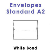 White Bond Envelopes