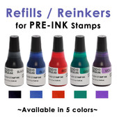 Refill / Reinker for PRE-INK Mounts