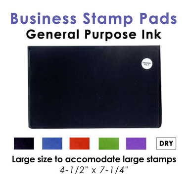 Large Business Stamp Pads