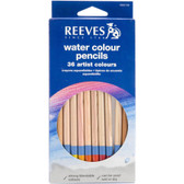 Reeves Watercolor Pencils: Set of 36