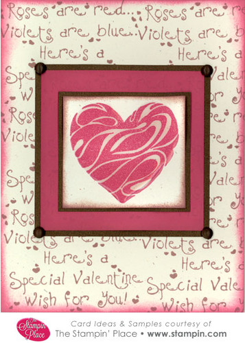 Swirl Heart Card Ideas Amp Samples Rubber Stamps Art